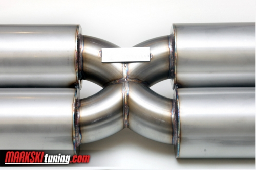 Custom exhaust system X-design