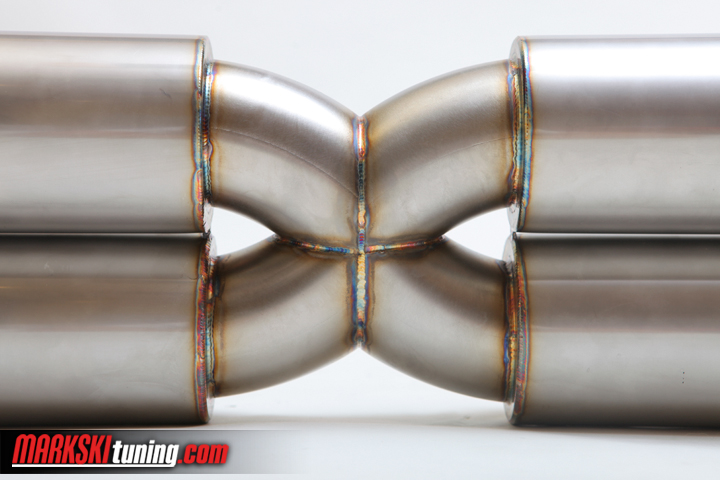 Porsche 996 turbo exhaust system X-Design Sport-Available exclusively at markskituning.com